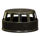 Solvent Weld Vent Terminal - Black