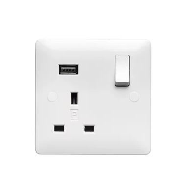 Verso 1G 13Amp USB Socket
