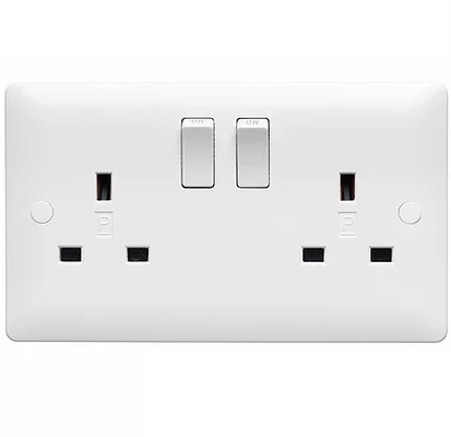 Verso 2G 13A DP SWITCHED SOCKET
