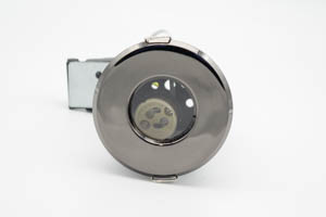 Shower IP65 Fire-Rated Downlight Black Nickel