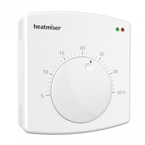Heatmiser Surface Mount Dial Thermostat DS1