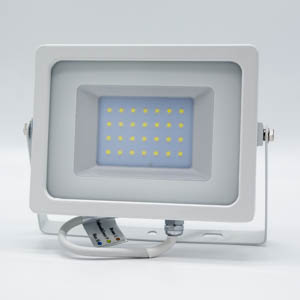 V-TAC 30W LED Floodlight White Body SMD 6400K