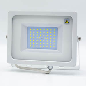V-TAC 50W LED Floodlight White Body SMD 6400K
