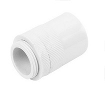 Male Adaptor 25mm White