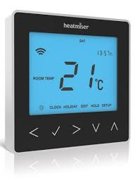 Heatmiser neoStat V2 - Programmable Thermostat Sapphire Black