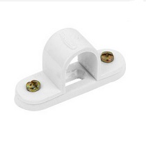 Saddle Spacer Bar 25mm PVC - White