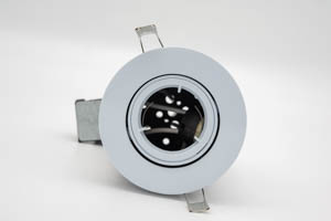 Dicast Fire-Rated TILT Downlight White