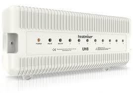 Heatmiser UH8 - 8 Zone 230v Wiring Centre